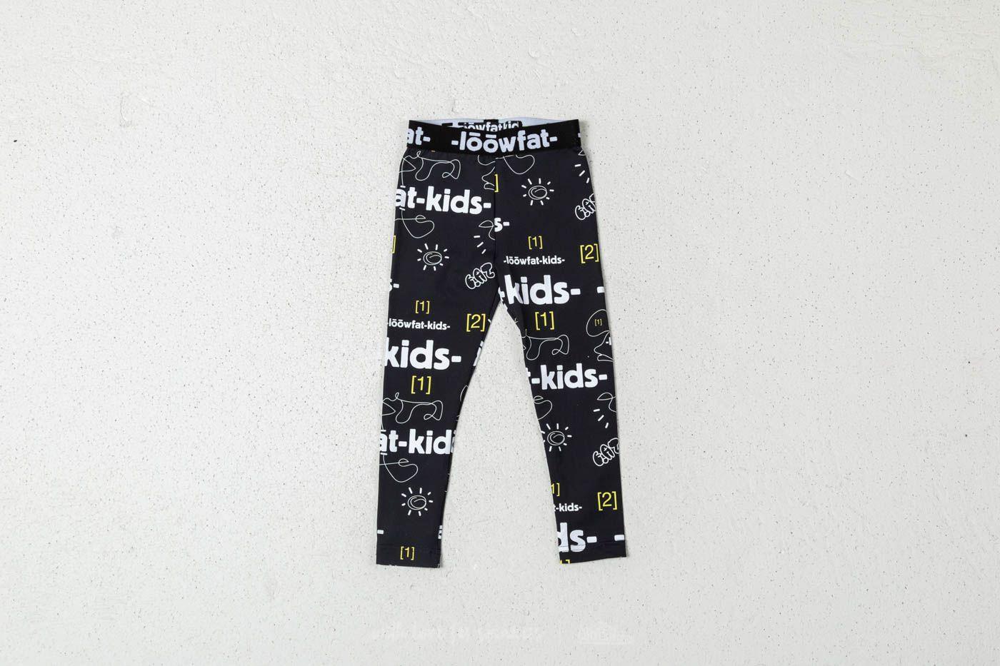 LoowFAT KIDS Happy Leggings Black za skvělou cenu 620 Kč koupíte na Footshop.cz