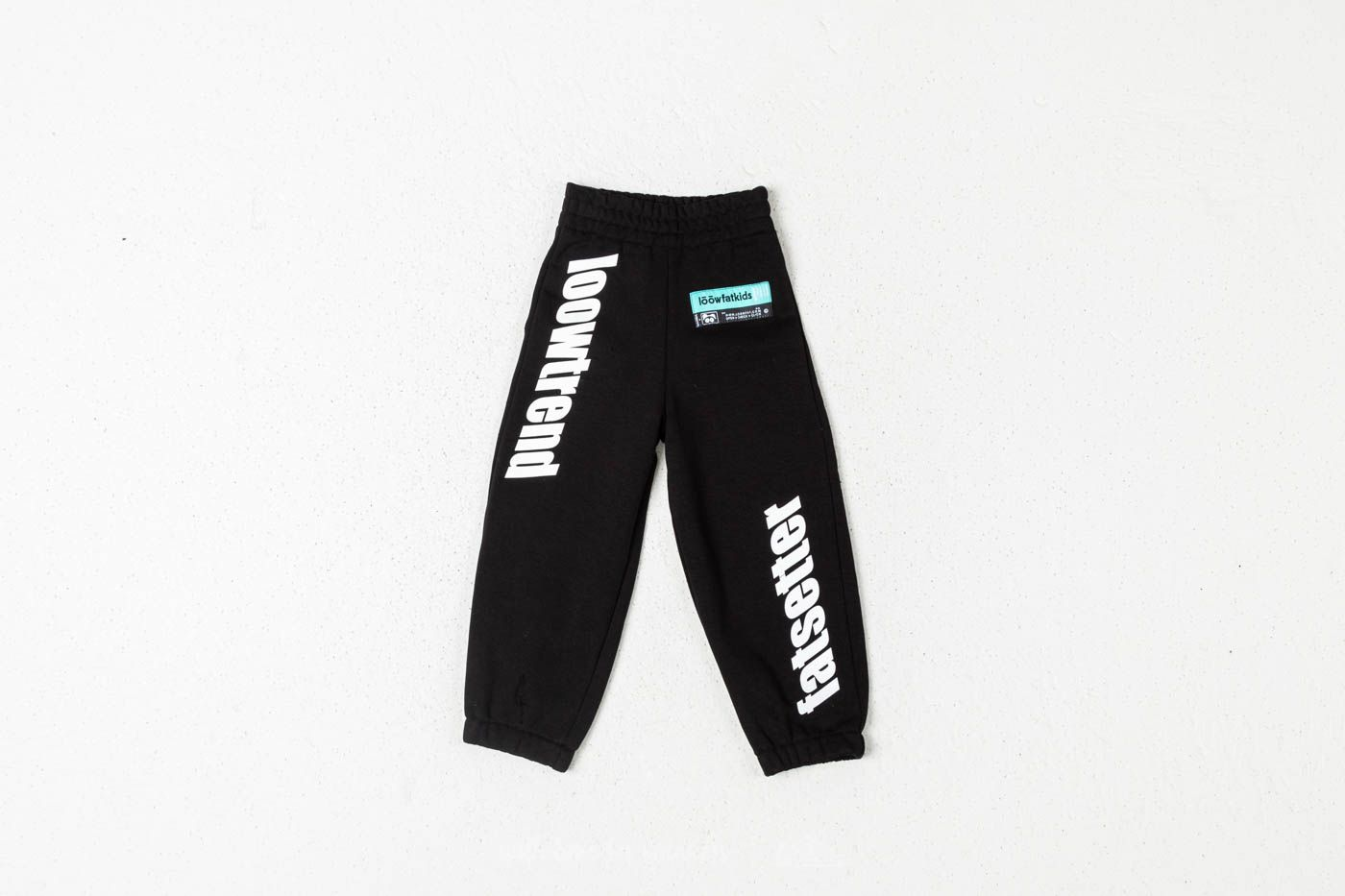 Children's Clothing LoowFAT KIDS Loowtrend Joggers Black
