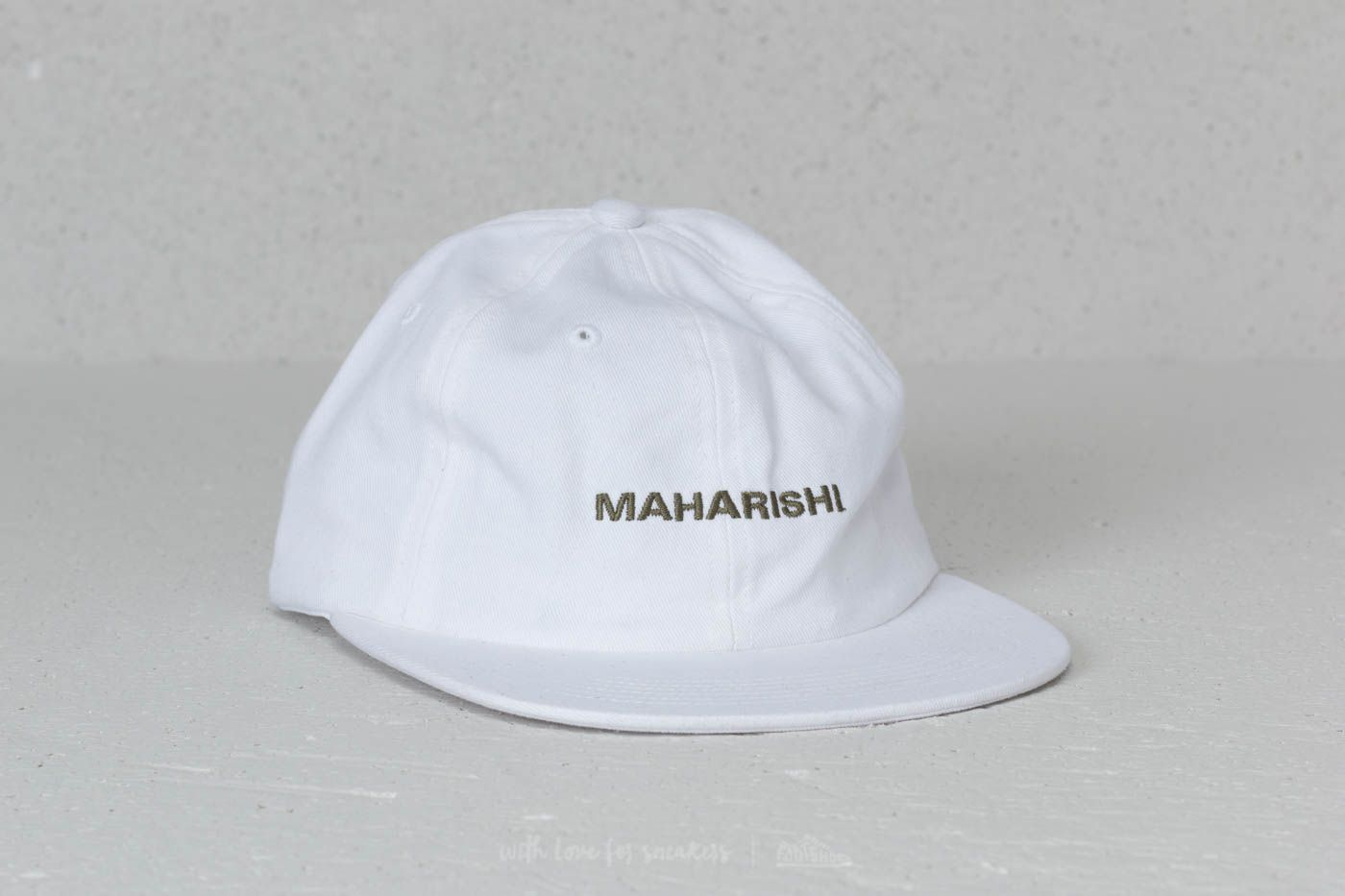 maharishi Miltype 6 Panel Cap White at a great price 27 € bestell bei  Footshop ae2f9ebd4b4c