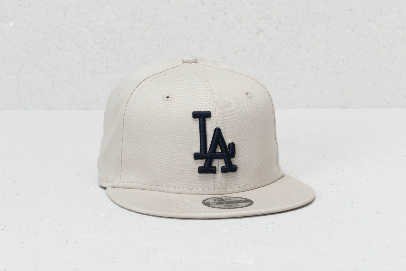 New Era 9Fifty Youth MLB League Essential Los Angeles Dodgers Cap Satin/ Navy