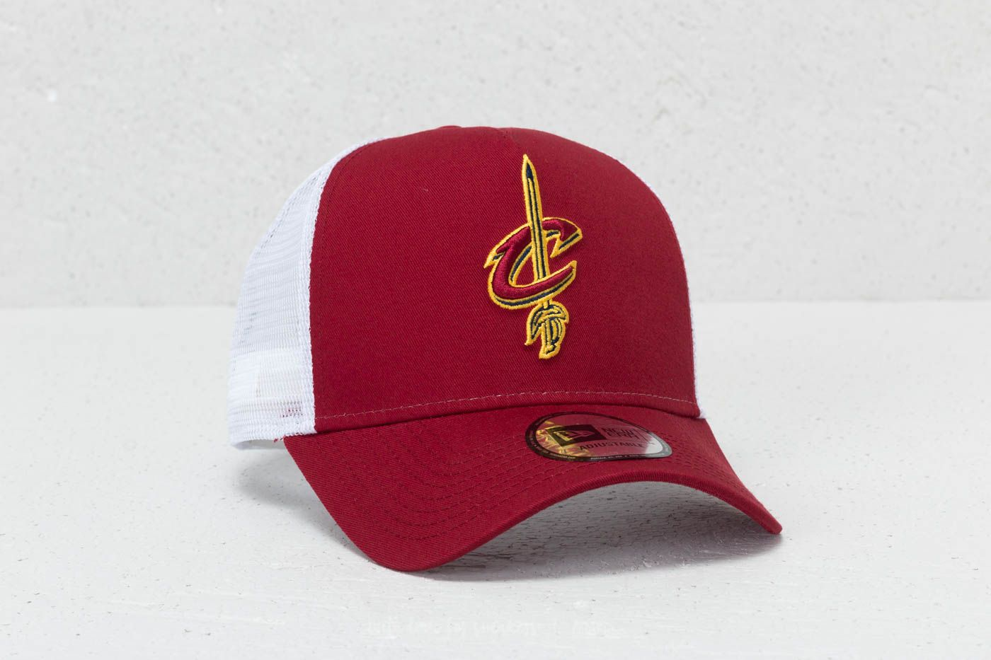 New Era 9Forty NBA Team Essential Cleveland Cavaliers Cap Cardinal/ White