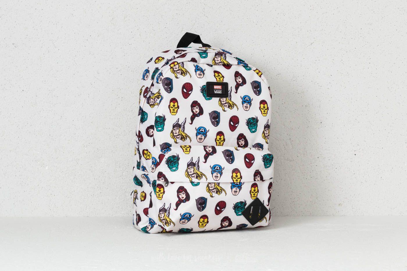 72e8b181bed Vans Old Skool II Backpack (Marvel) Multicolor