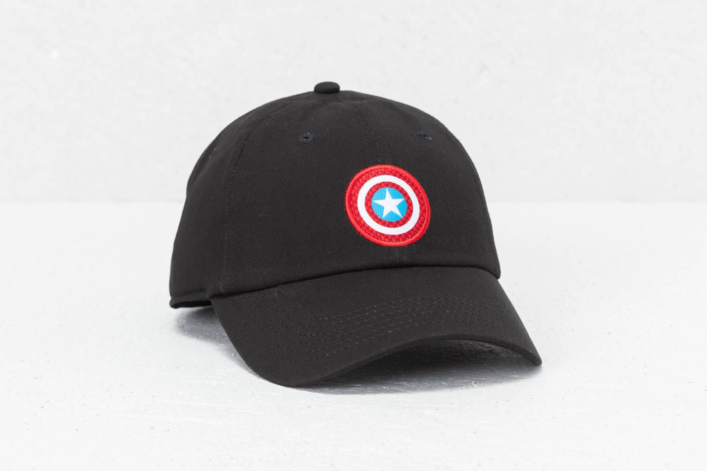 c4719964f6b Vans Captain Shield Cap (Marvel) Black
