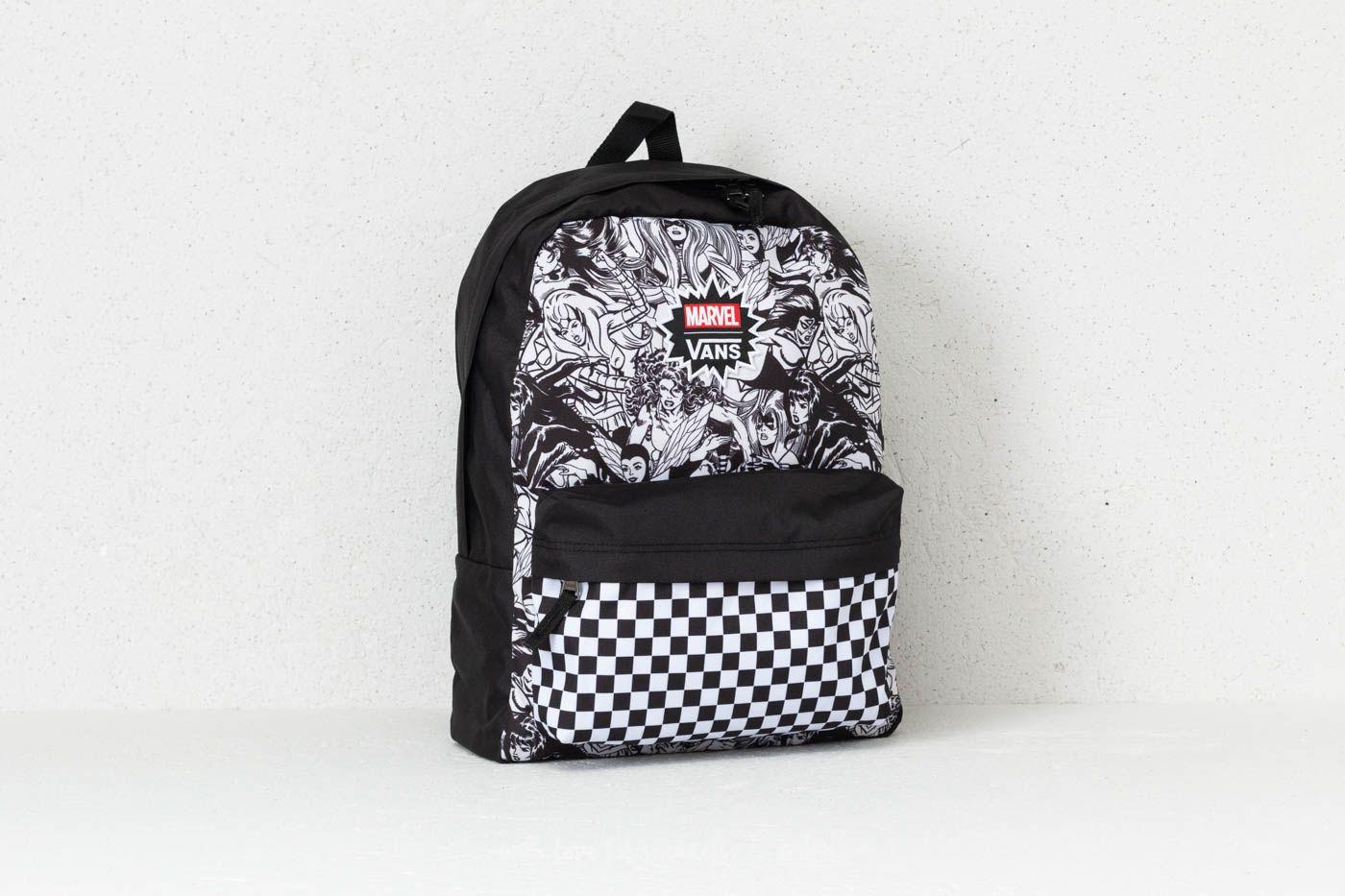 Vans Women Realm Backpack (Marvel) Black | Footshop