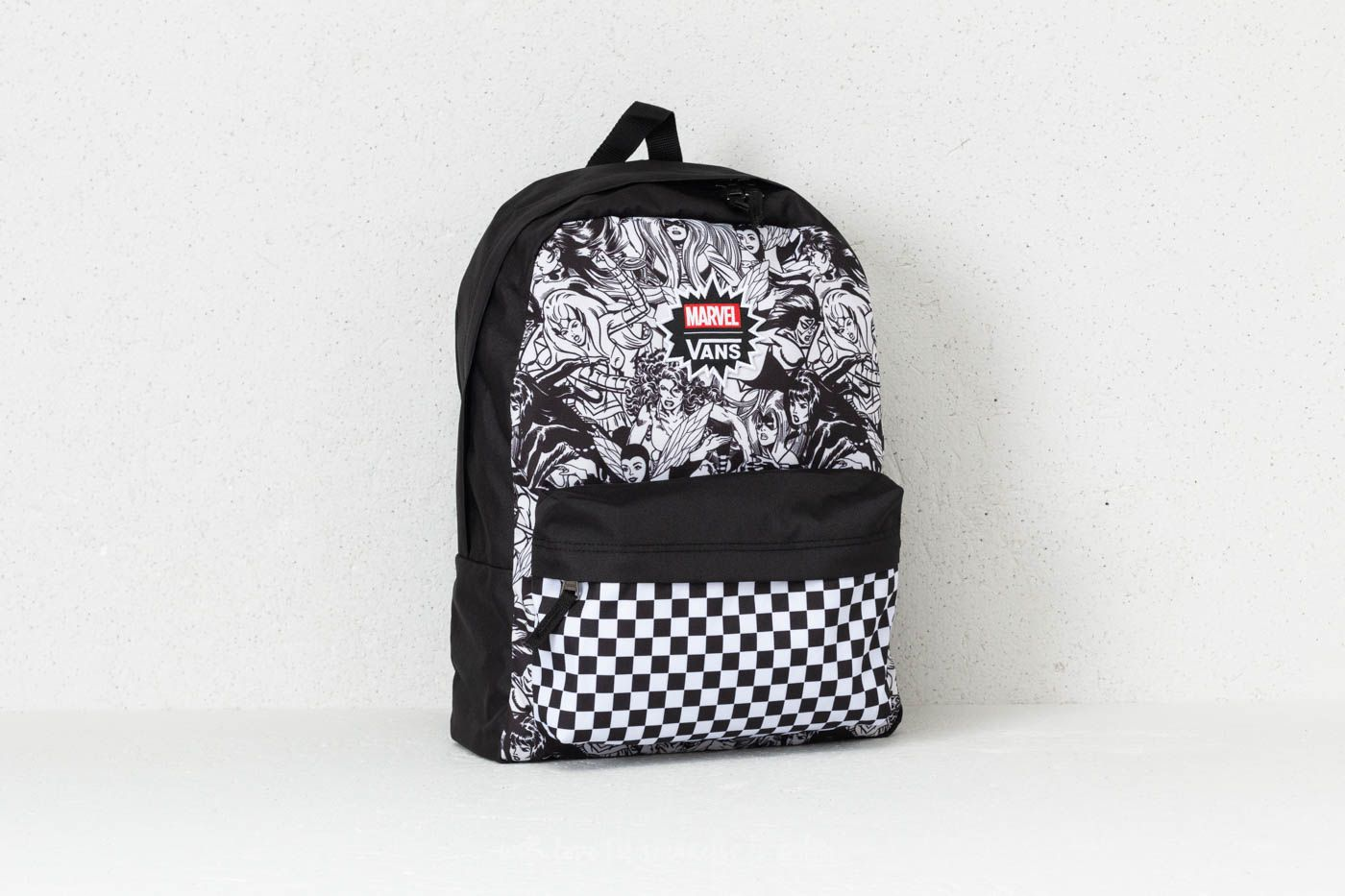 24322c70649931 Vans Women Realm Backpack (Marvel) Black