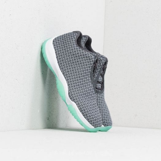 the latest f2dc6 becef Air Jordan Future Low Wolf Grey  Emerald Rise