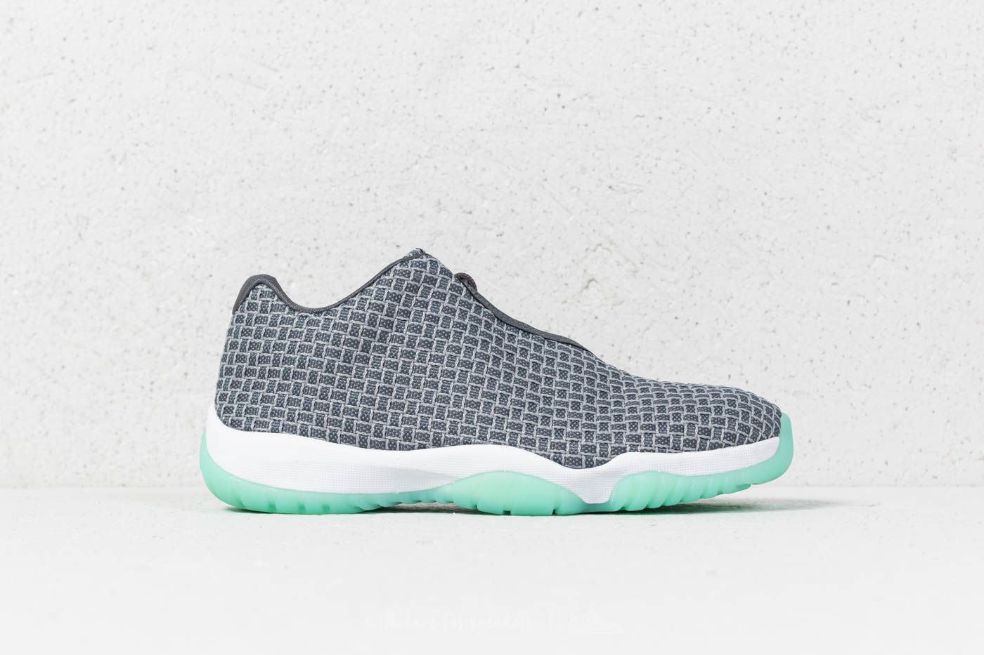 newest 91a84 6c116 Air Jordan Future Low Wolf Grey  Emerald Rise at a great price £105 buy