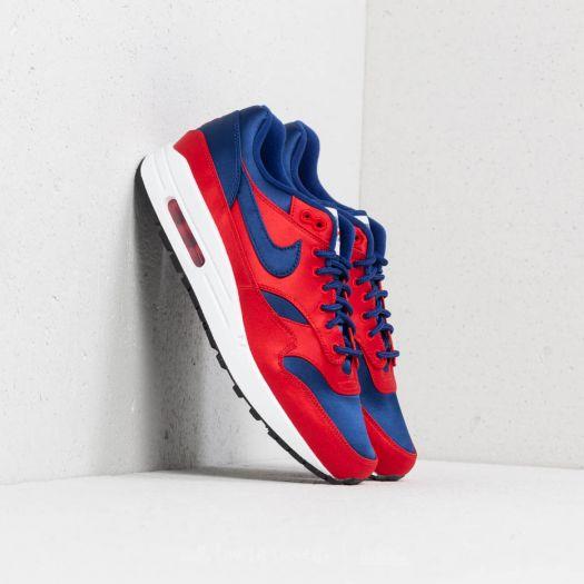Nike Air Max 1 SE University Red Deep Royal Blue | Footshop