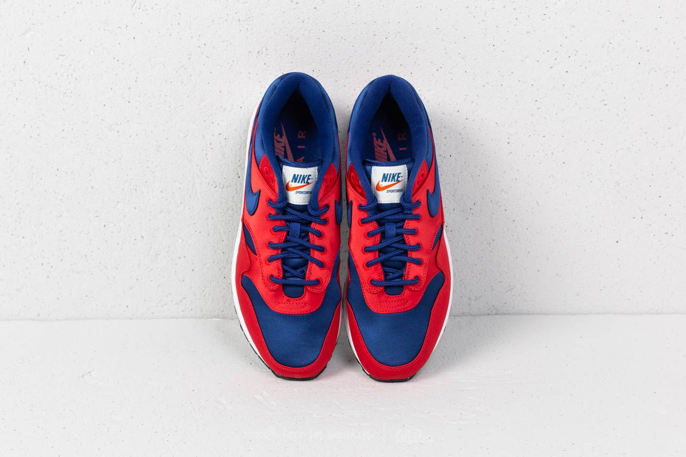 Nike Air Max 1 SE University Red  Deep Royal Blue at a great price  163 65347d223aaf