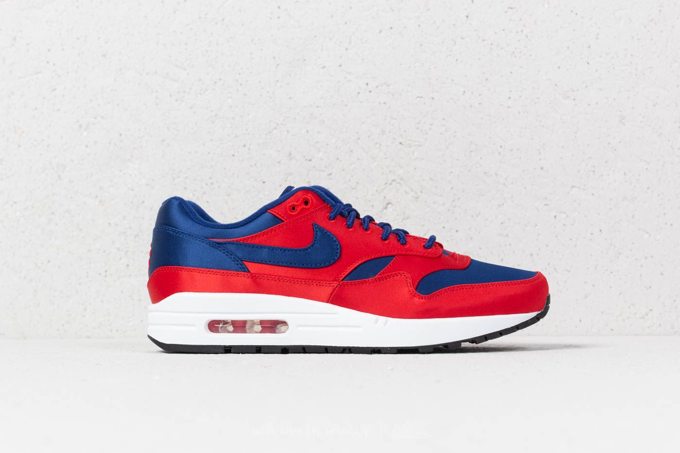 cheaper 00260 c6f8a Nike Air Max 1 SE University Red  Deep Royal Blue at a great price 139