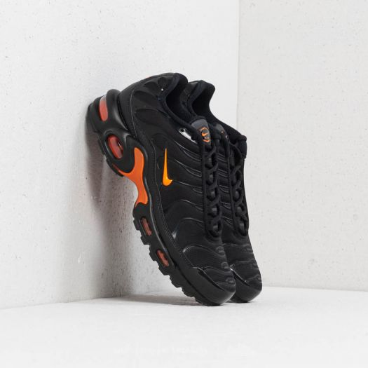 on sale 92798 a0a86 Nike Air Max Plus TN SE Black/ Total Orange | Footshop