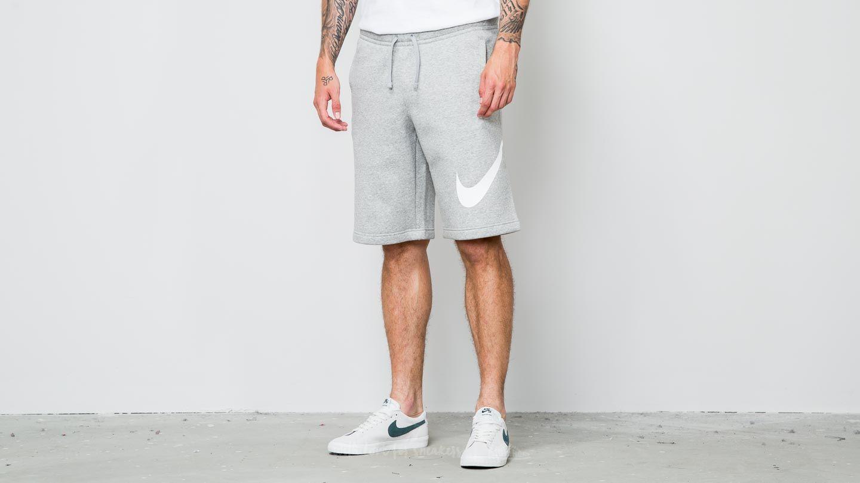Nike Sportswear Fleece Club Short Light Grey Melange