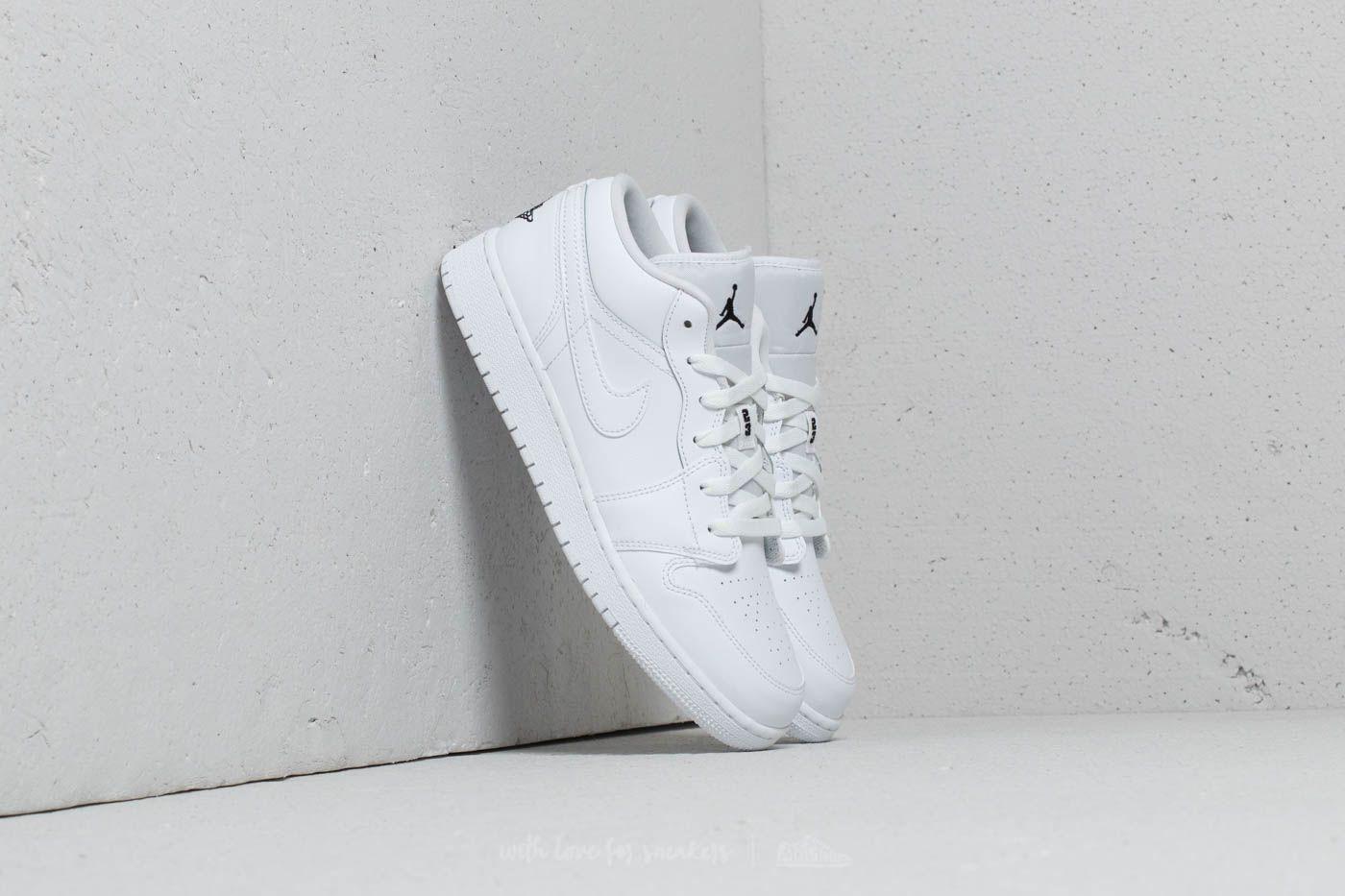 ce0bb0f97 Air Jordan 1 Low (GS) White  Black-White at a great price