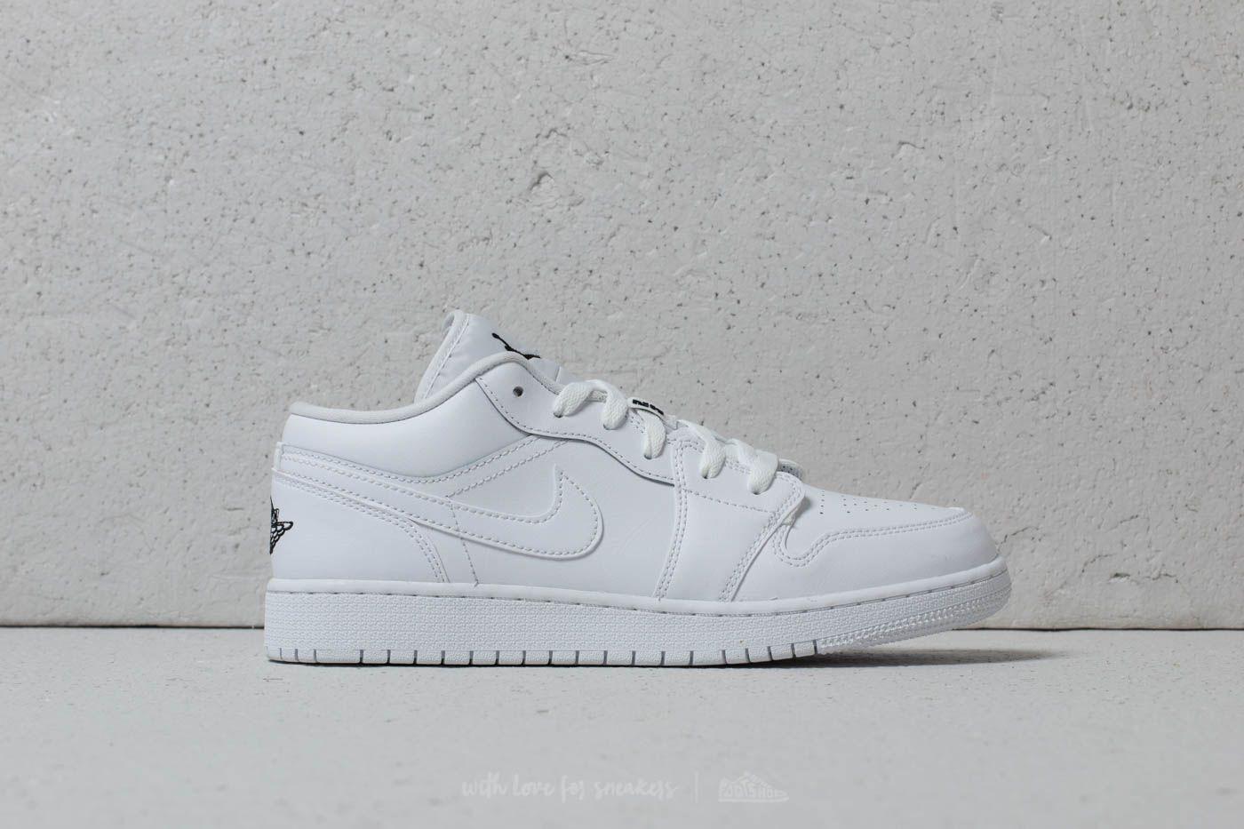 shoes Air Jordan 1 Low (GS) White