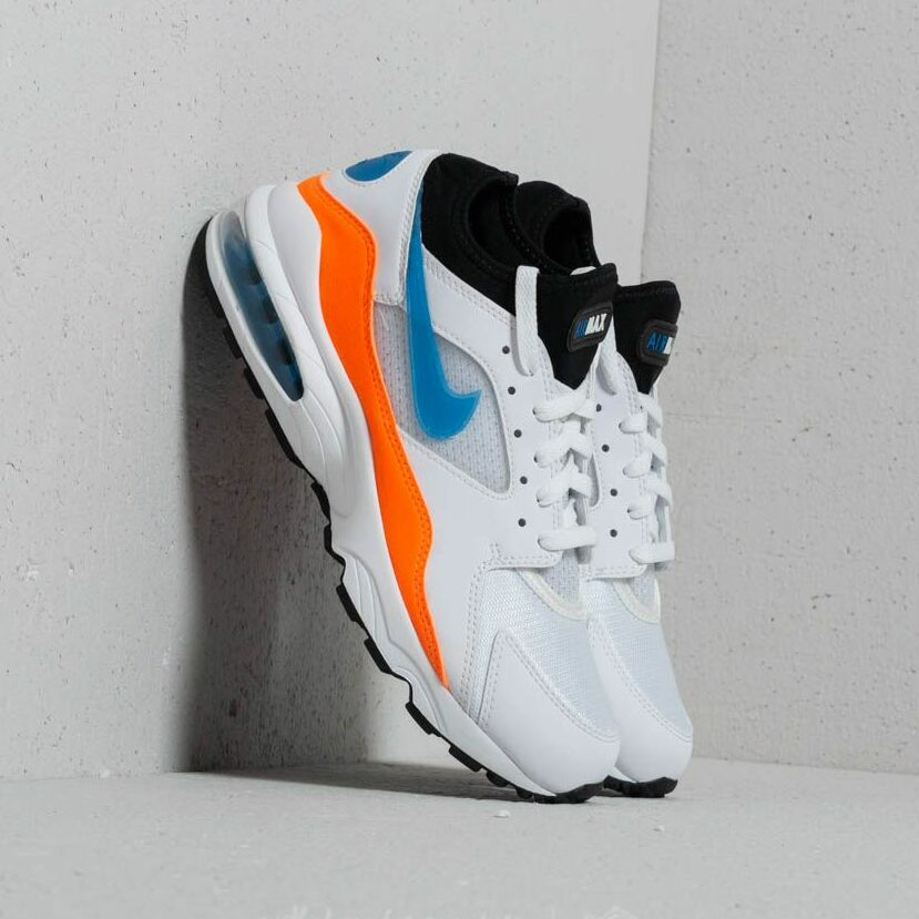 Nike Air Max 93 White/ Blue Nebula-Total Orange EUR 42