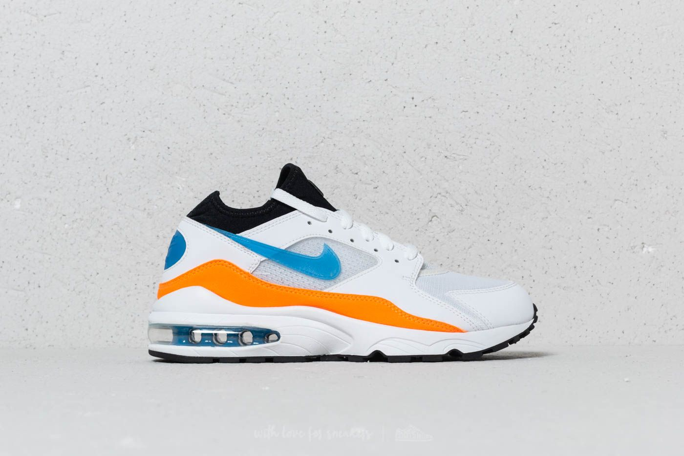 a997394f9594 Nike Air Max 93 White  Blue Nebula-Total Orange at a great price 143