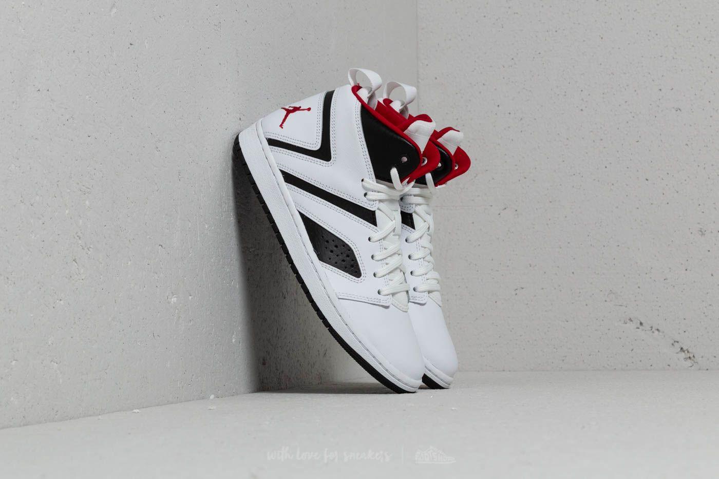 Jordan Flight Legend BG White  Gym Red-Black  2502bb626