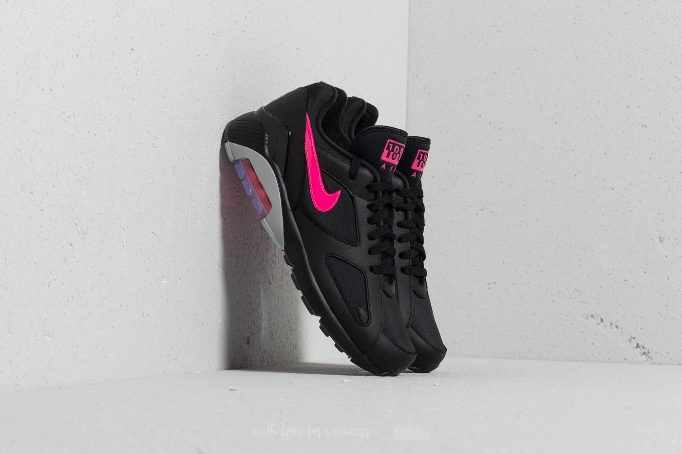 new concept 97df0 1a96a Nike Air Max 180. Black Pink ...