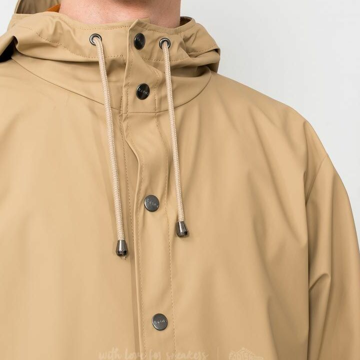 Rains Jacket Sand, Brown