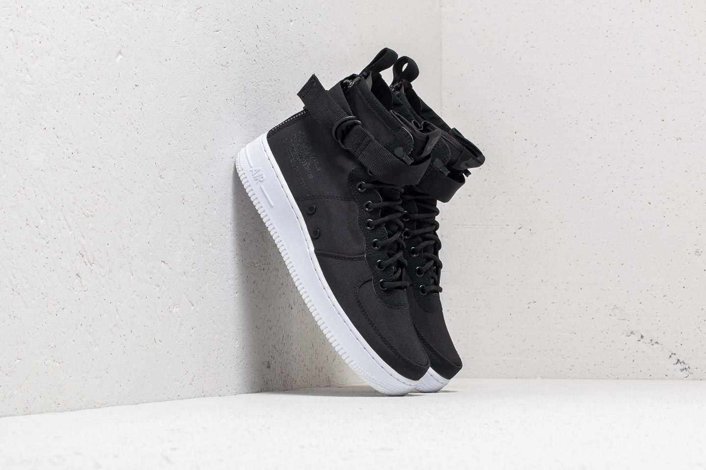 Nike Special Field Air Force 1 Mid Black Anthracite White | Footshop