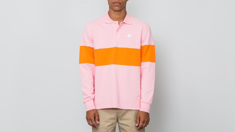Converse Golf Le Fleur Polo Longsleeve Tee Pink/ Orange za skvělou cenu 1 014 Kč koupíte na Footshop.cz