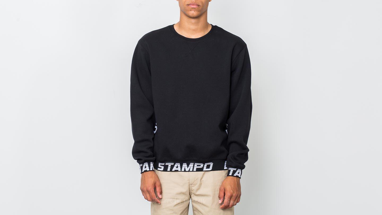 STAMPD Drive Pullover Crew Sweatshirt Black za skvělou cenu 2 790 Kč koupíte na Footshop.cz