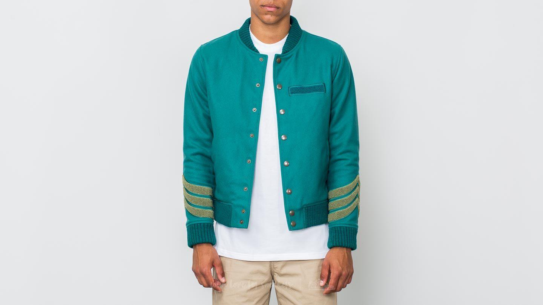 Hadrian Holtz Letterman Jacket Green za skvelú cenu 384 € kúpite na Footshop.sk
