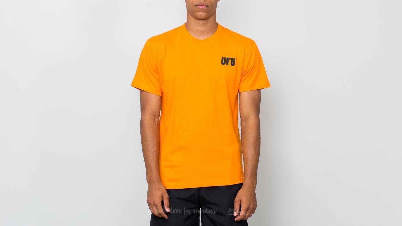 Used Future Universal Ad Tee Orange za skvělou cenu 689 Kč koupíte na Footshop.cz