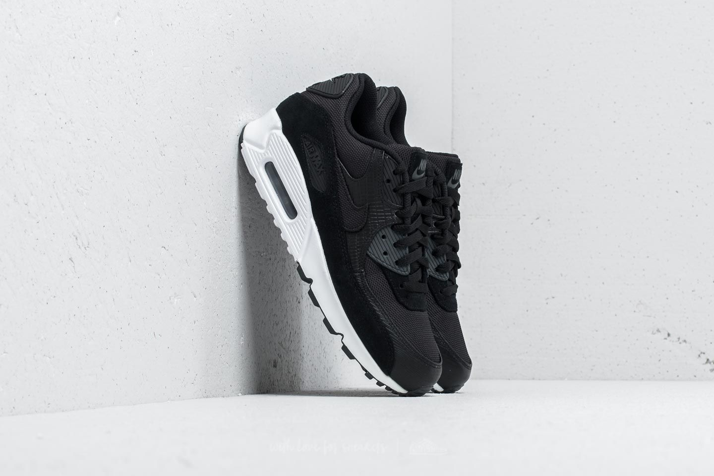 timeless design a86c8 b2d02 Nike Air Max 90 Premium. Black  Black-White-Anthracite