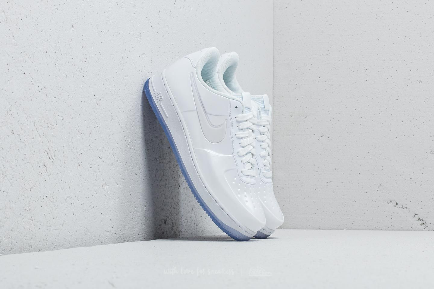 0c29331e122166 Nike Air Force 1 Foamposite Pro Cup White  White