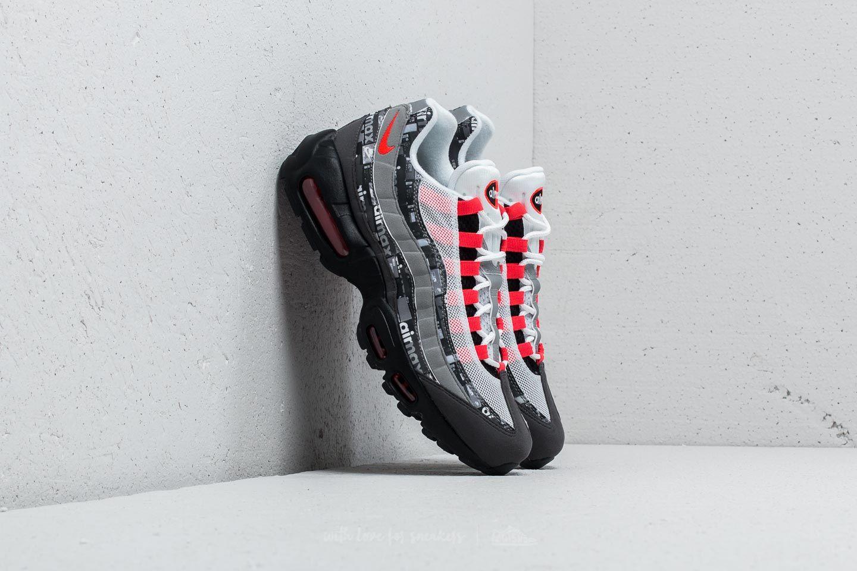 best website b3336 c74e7 Nike Air Max 95 Print. Black  Bright Crimson