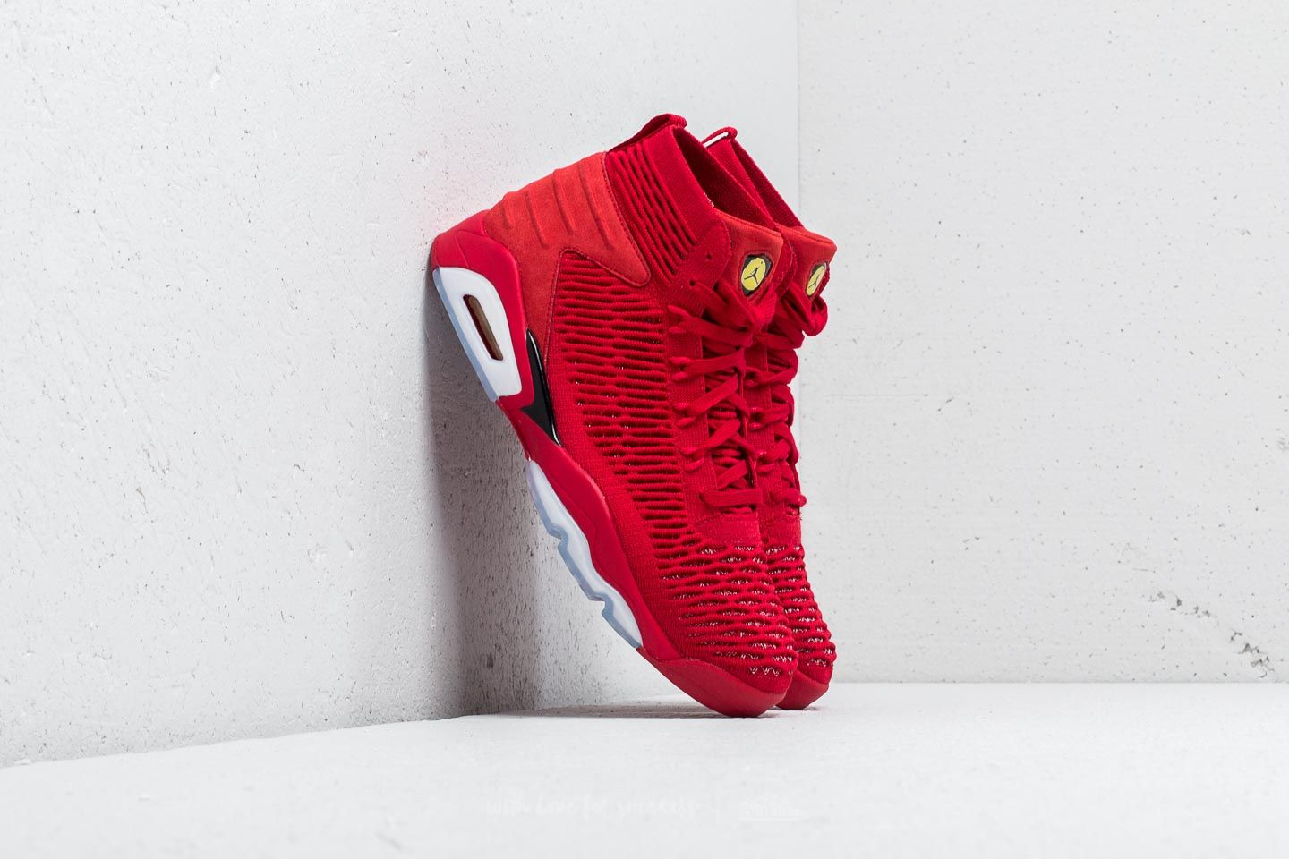 buy popular 1b951 9b25f Jordan Flyknit Elevation 23 University Red/ Black | Footshop