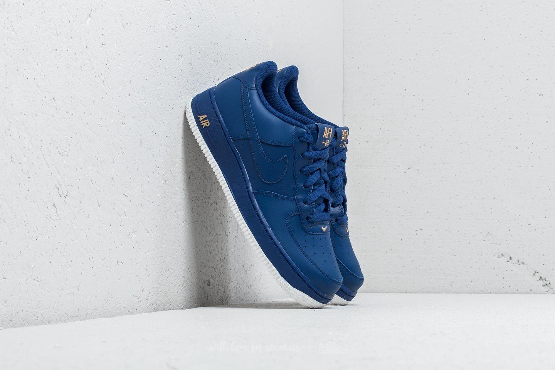 sports shoes 722d9 0fbc7 Nike Air Force 1 (GS) Deep Royal Blue