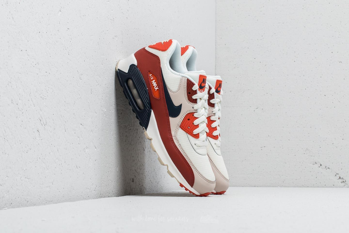new products e01c4 ce8cb Nike Air Max 90 Essential. Mars Stone  Obsidian