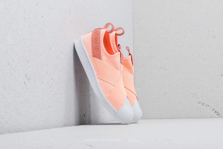 adidas Superstar Slip-On W Clear Orange/ Clear Orange/ Ftw White