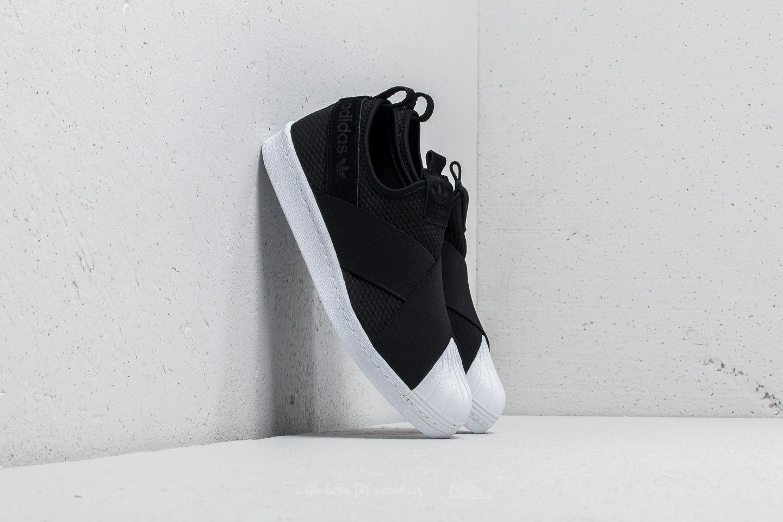 748a93dc07c5 adidas Superstar Slip-on W Core Black  Core Black  Ftw White ...