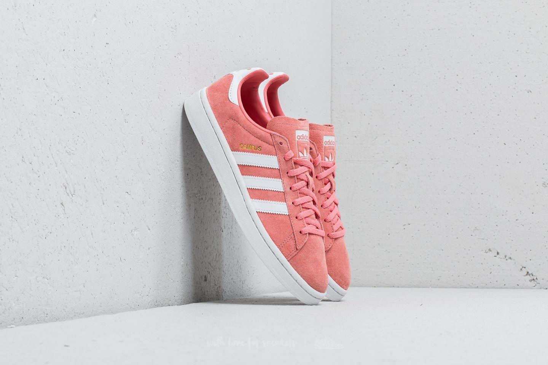 adidas Campus W Trace Rose/ Ftw White/ Crystal White za skvělou cenu 1 490 Kč koupíte na Footshop.cz