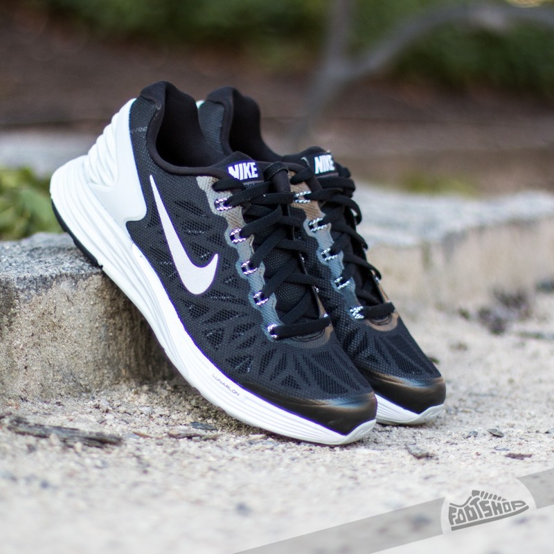 hot sale online 6ed98 cebf1 Nike Lunarglide 6 (GS) Black White-Platinum