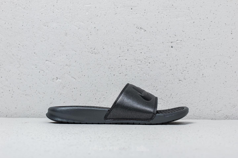 competitive price abbfc c72d5 Nike Wmns Benassi JDI Metallic QS Metallic Black/ Black a muy buen precio  33 €