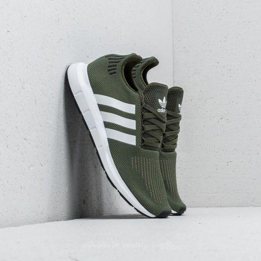 womens green adidas swift run