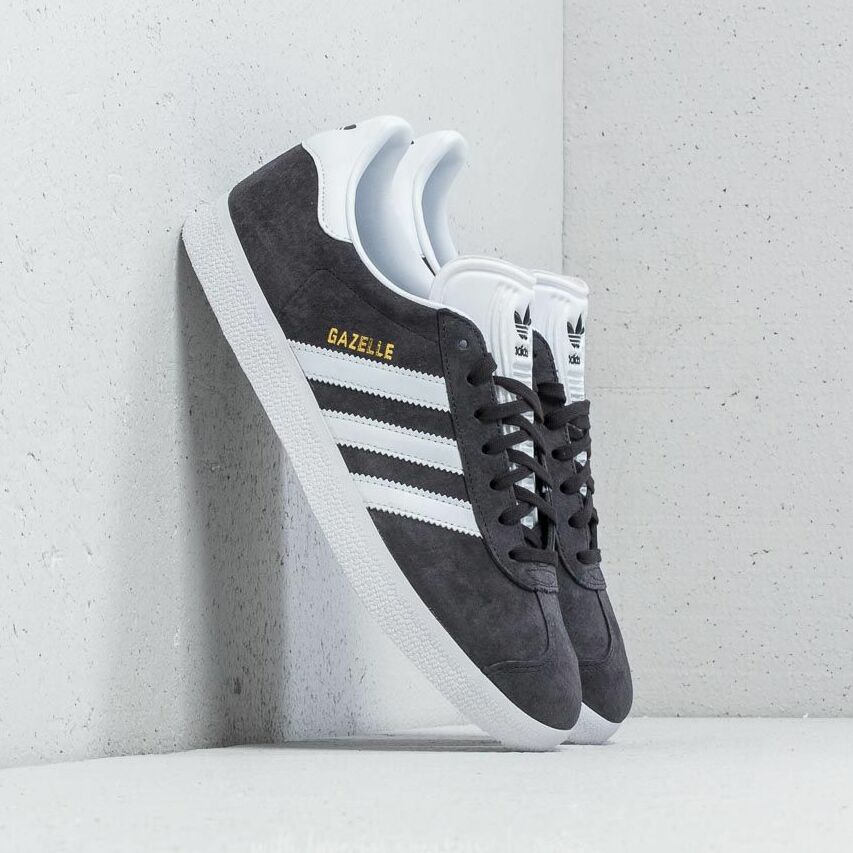 adidas Gazelle Solid Grey/ White/ Gold Metallic EUR 46