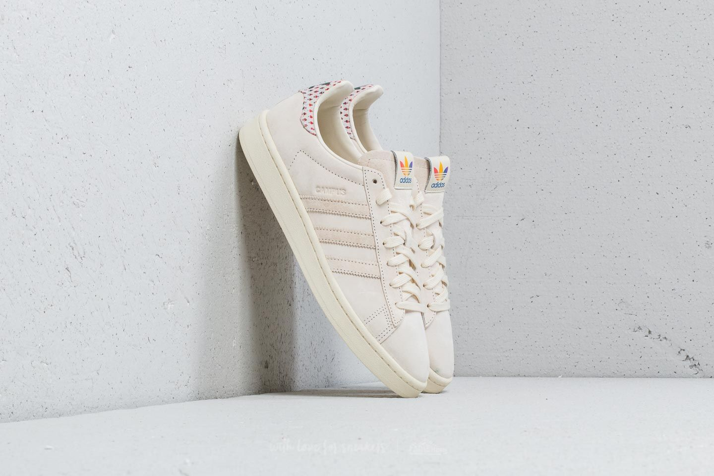 pretty nice 552fa 6a964 adidas Campus Pride Cream White  Trace Pink  Trace Scarlet at a great price  £