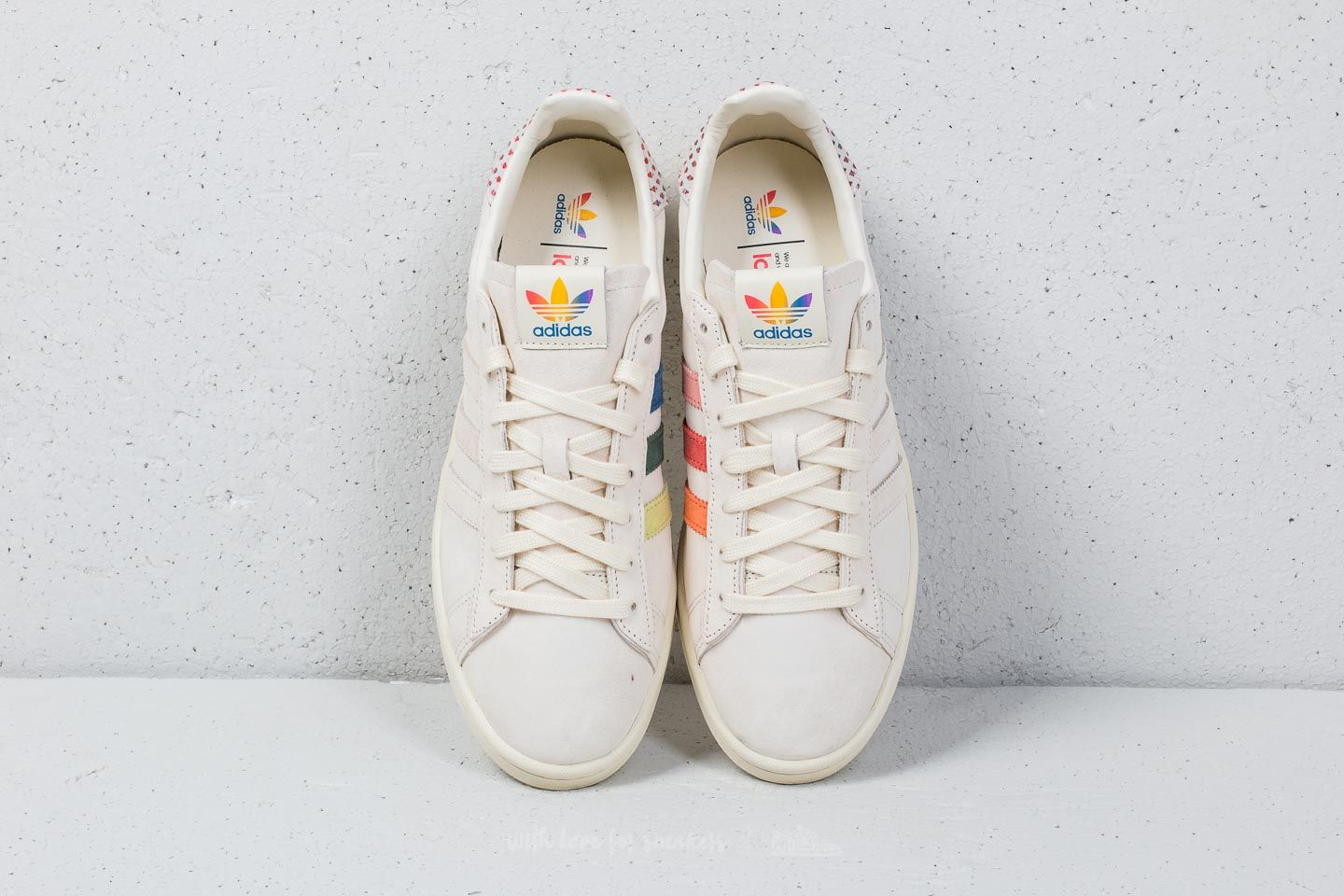 a838d992f92 adidas Campus Pride Cream White  Trace Pink  Trace Scarlet at a great price  £