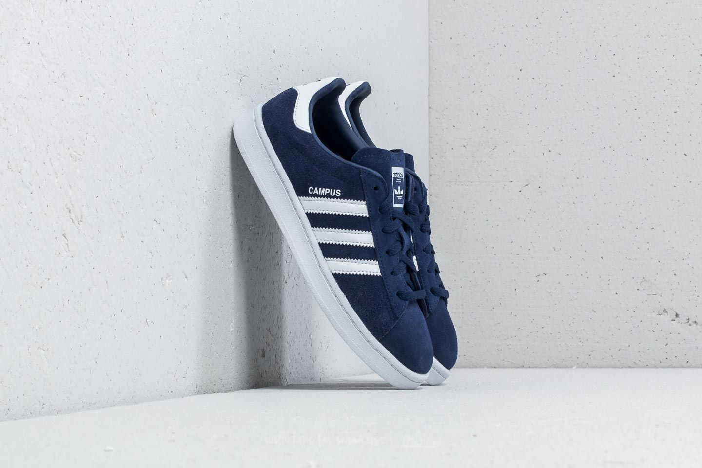 wholesale dealer b2526 51fbb adidas Campus C Dark Blue  Ftw White  Ftw White at a great price 36
