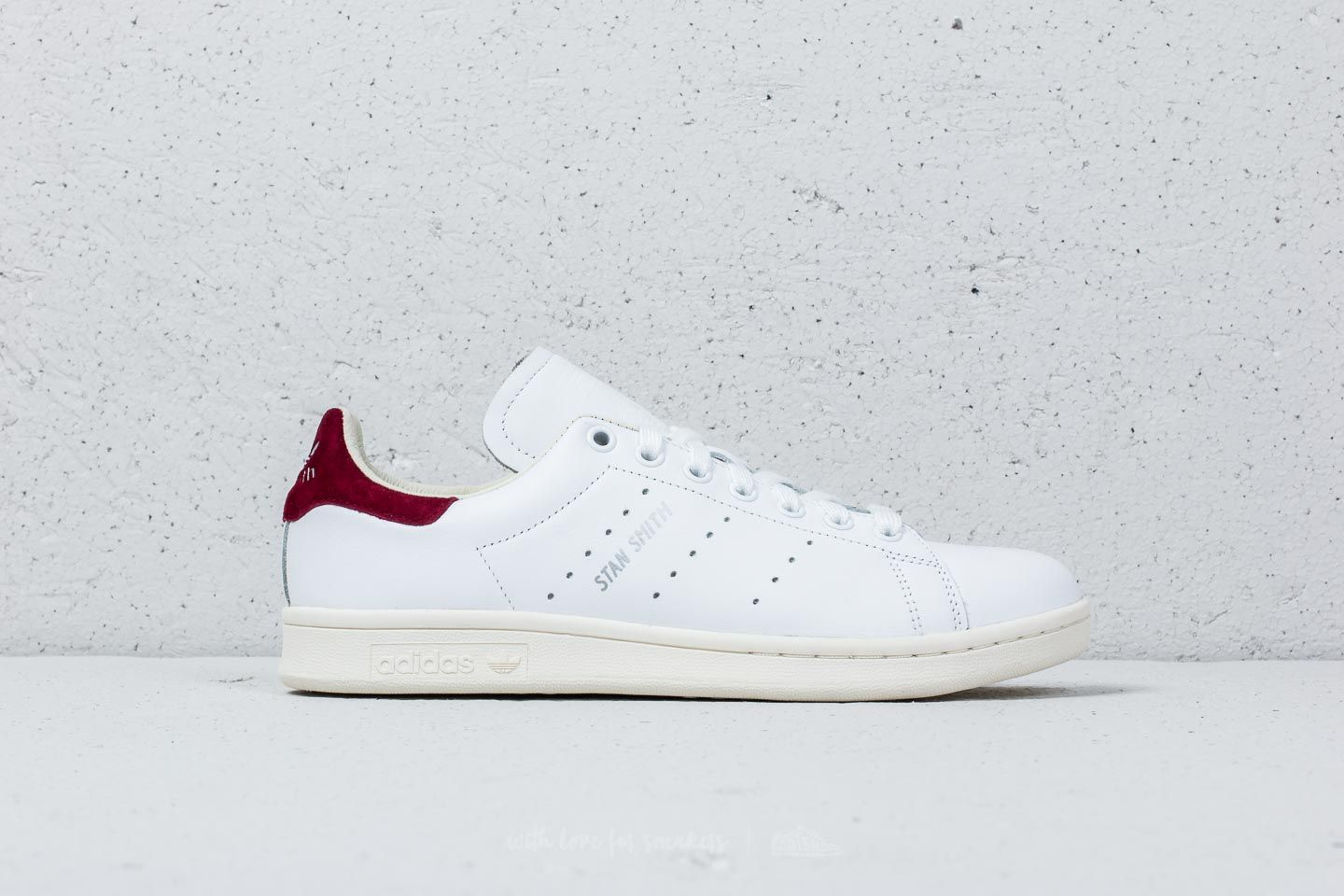 Adidas Stan Smith W Ftw Weiß Weiß Core Burgundy Footshop