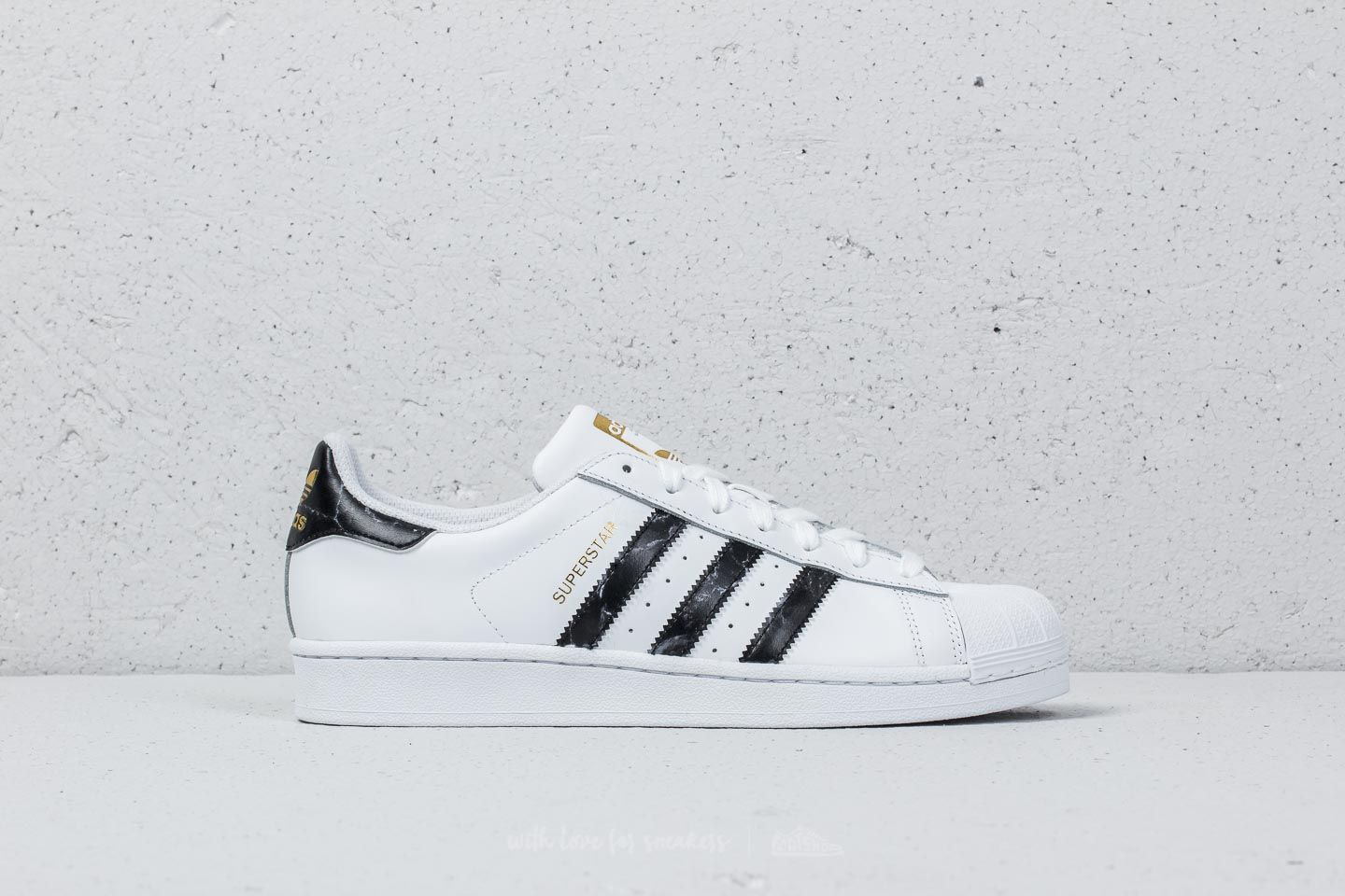 b00491b21fe adidas Superstar Ftw White  Core Black  Gold Metallic at a great price £61