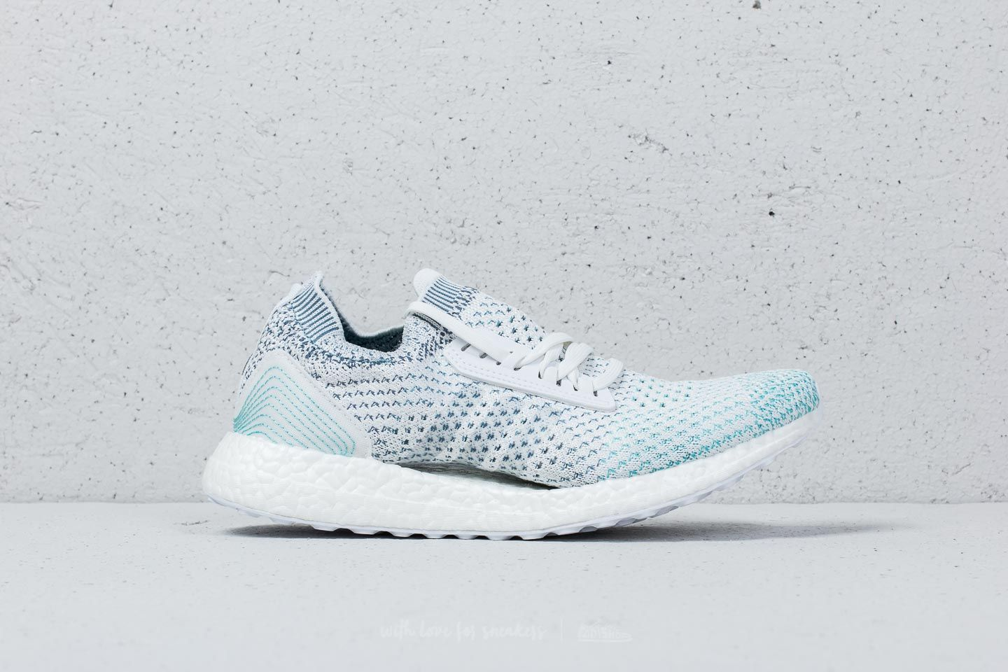 9a4775ed676a88 adidas Ultraboost x Parley LTD Ftw White  Ftw White  Blue Spirit at a great