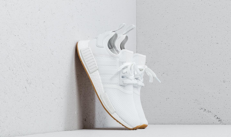 adidas NMD_R1 Ftw White/ Ftw White/ Gum 3 EUR 42