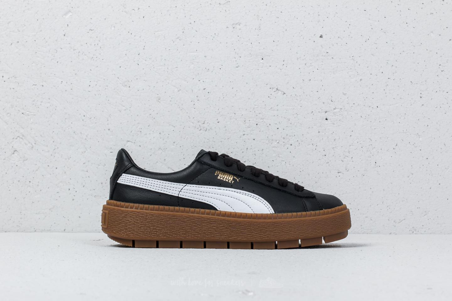 wholesale dealer 9a67f badfc Puma Platform Trace L Wn's Puma Black/ Puma White | Footshop