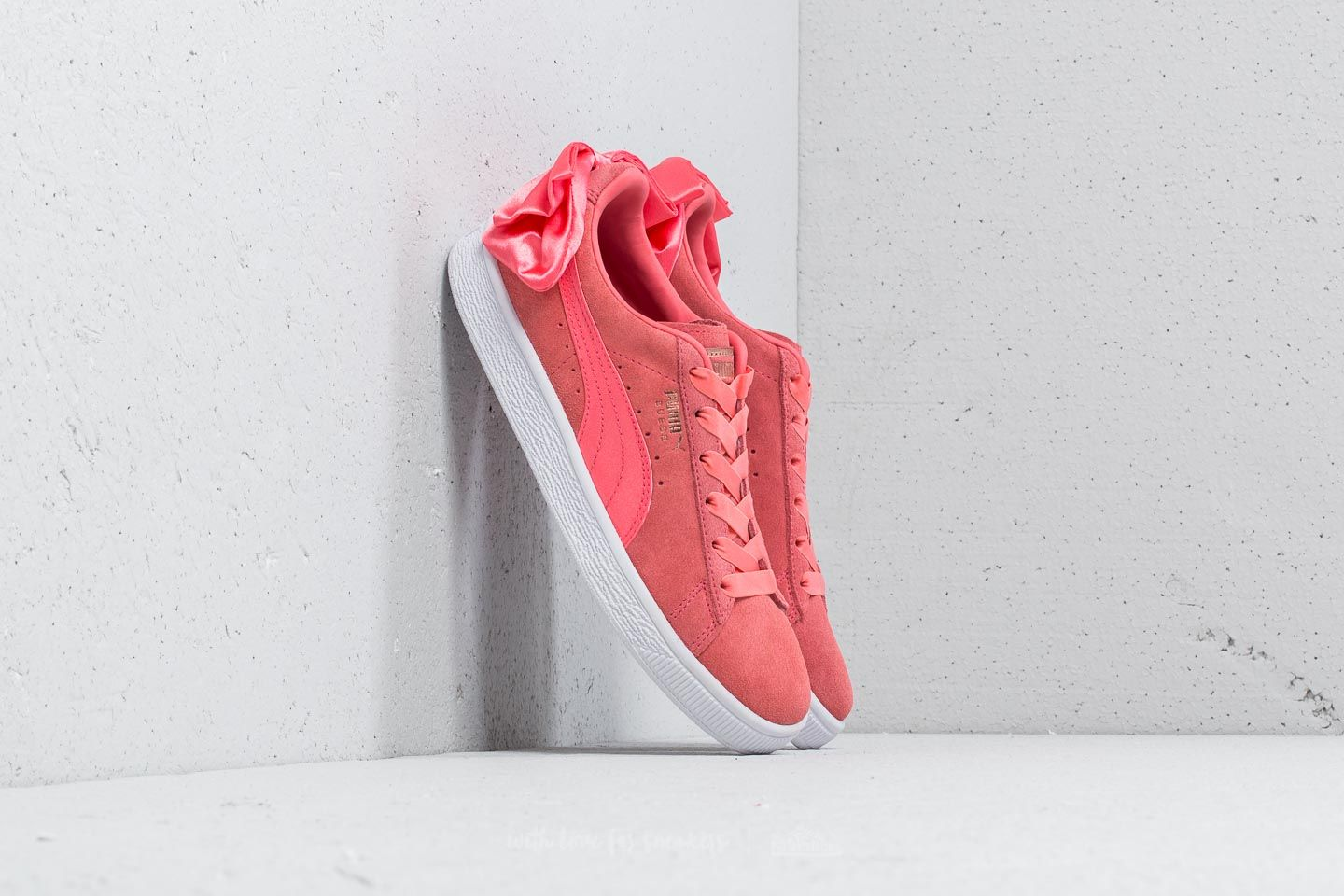 Puma Suede Bow Wn's Shell Pink Shell Pink | Footshop